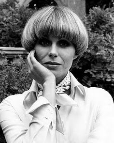 Joanna Lumley as Purdey from The Avengers ~ created an iconic hairstyle in the '70s