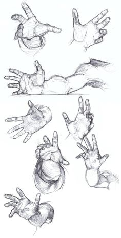 Foreshortening Practice by falyn4god.deviantart.com on @DeviantArt