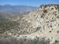 Approaching Cajon Pass on the Pacific Crest Trail.