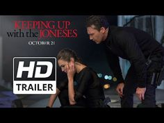 Keeping Up with the Joneses (2016) - Trailer - Isla Fisher | Komédie | Trailery