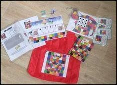 Sac à album: Elmer Petite Section, Edd, Preschool, Gift Wrapping, Animation, Teaching, Activities, Diys, Games