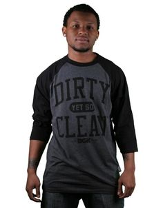 DGK Clean Jersey / Black Heather Hollister Clothes, Cleaning, Black, Black People, Home Cleaning