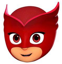 Pijamaskeliler Pj Masks Images, Pj Max, Pj Masks Printable, Pjmask Party, Pj Masks Birthday Cake, Festa Pj Masks, Face Template, Face Images, Felt Patterns