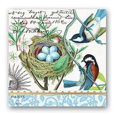 Bird Nest Luncheon Napkins