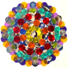 Rainbow Cloud Cluster   Original Photo & Mixed Media  - Cheryl Sorg