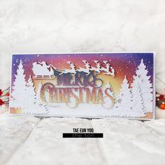 Merry Christmas! – The Ton – rainbow in november Christmas Gift Card Holders, Handmade Christmas, Christmas Holidays, Christmas Decorations, Watercolor Christmas Cards, Snowflake Cards, Window Cards, Merry Christmas Everyone, Christmas Inspiration