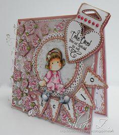 Magnolia Cards By Silvie Z: Tilda as a Star!