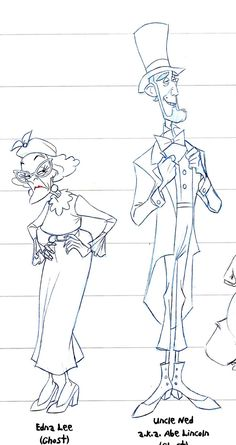 "Sandro Cleuzo's character designs for ""My People"", one of the great lost Disney feature ideas."