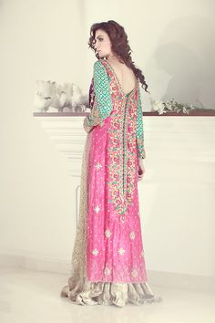 Pakistani fashion | Purple GotaRs: 247,000 |Tena durrani.com