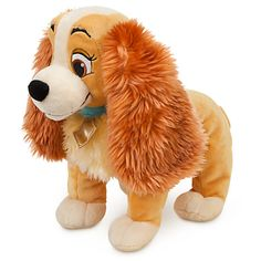 Lady loves to get a hug as much as she loves to give one. LADY PLUSH SOFT TOY DOLL (14 inches long) #Disney