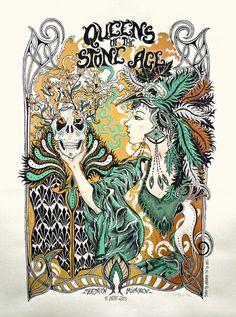 Queens of the Stone Age - Arrache-toi Un Oeil - 2013 ----