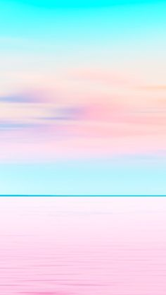 Matt Crump photography iPhone wallpaper Pastel sunset ocean beach