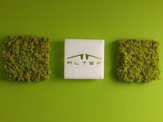"""Un filo """"verde"""" caratterizza tutte le nostre sedi: le pareti sono veri e propri giardini verticali e rispecchiano la nostra anima #green. La #Sostenibilità è un nostro #Valore!"""
