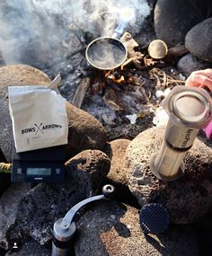 Aeropress.. the best coffee maker for travelling!