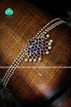 Antique Jewellery Designs, Fancy Jewellery, Gold Jewellery Design, Temple Jewellery, Pearl Necklace Designs, Jewelry Design Earrings, Gold Earrings Designs, Bridal Jewelry, Beaded Jewelry