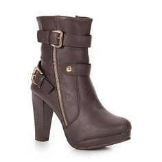 Ankle Boots Mooncity 77105 - Cafe