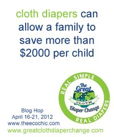 Yes, cloth diapers can save you money! Great tips from Adventures in Mommyhood