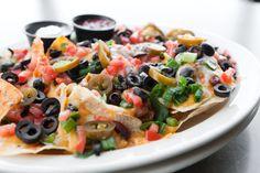 Chili Nachos Supreme- big enough to share!