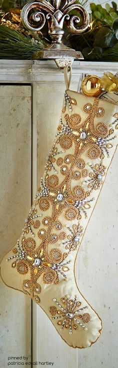 Kim Seybert  Jeweled Tiara Christmas Stocking                                                                                                                                                      More