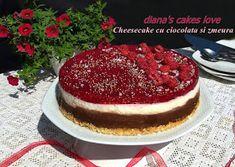 diana's cakes love: Cheesecake cu ciocolata si zmeura Tiramisu, Biscuit, Cheesecake, Ethnic Recipes, Desserts, Tailgate Desserts, Deserts, Cheesecakes, Postres