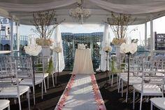 Ceremony Area On The Destiny Boat Wedding Yacht Venues Stuff