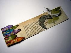 Yolanda (Claupau) Newspaper Art, Creative Crafts, Junk Journal, Bookmarks, Origami, Art Projects, Canvas Art, Birthdays, Arts And Crafts