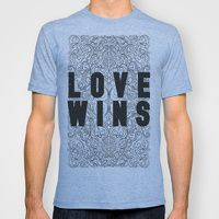 T-shirt featuring Love Wins by Megan Hillier
