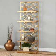 "Uttermost Lashaya 80"" Bookcase   AllModern"