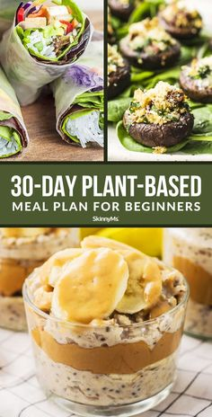 Plant-Based Meal Plan For Beginners Are you interested in moving to a whole-food, plant-based diet? Our plant-based meal plan for beginners will walk you through everything you need to know to start on your plant-based journey. Plant Based Diet Meals, Plant Based Meal Planning, Plant Based Whole Foods, Plant Based Eating, Plant Based Recipes, Plant Diet, Plant Based Snacks, Plant Based Diet Plan, Plant Based Nutrition