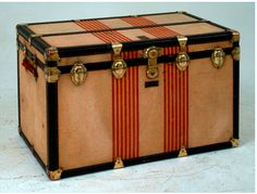 Louis Vuitton Trunk - For that high end chic industrial look...this will definitely do it!