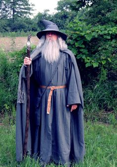 Gandalf The Grey, The Hobbit, The Lord of the Rings,byPropDad.