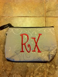 Personalize your Mini Zipper Pouch so that everyone knows what's in it in case of an emergency. Meds, Rx, Epi-Pen, etc. Thirty One Totes, Thirty One Party, My Thirty One, Thirty One Gifts, 31 Party, Host A Party, Thirty One Business, Thirty One Consultant, 31 Bags