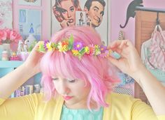 Scathingly Brilliant: flower crowns