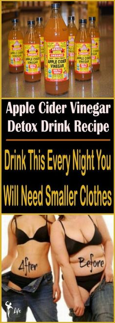 If you want to perform a body detoxification, lose some weight and fat, apple cider vinegar is the best thing you can use! This type of vinegar is full of revitalizing and antioxidant properties. You can use it to decrease your blood sugar, lose weight and improve the symptoms of diabetes.