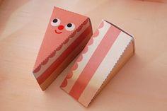 My Paper Crane – the life & art of Heidi Kenney Birthday Stuff, Birthday Cake, Yummy World, Paper Cake, Paper Crafts, Diy Crafts, Printable Paper, Crane, Free Printables