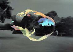 painting by jarek puczel