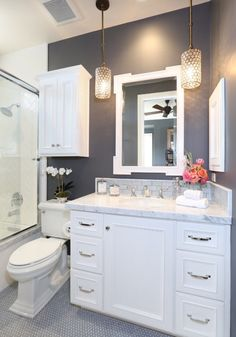 10 Tips for Designing a Small Bathroom   Pinterest   Small bathroom Designs Decorating Bathroom Counte E A on
