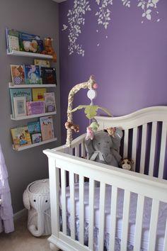 Project Nursery - Lavender Girl Nursery Crib