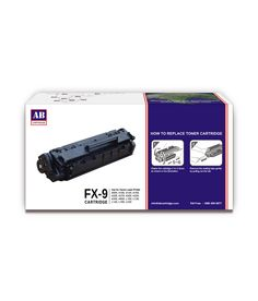 Loved it: AB FX9 Black Toner Cartridge / Canon FX9 Black Toner, http://www.snapdeal.com/product/ab-fx9-black-toner-cartridge/1536995915