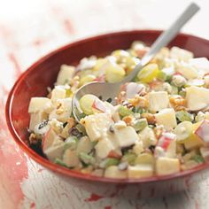 Blue Cheese Waldorf Salad Recipe from Taste of Home
