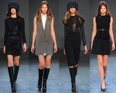 Victoria Victoria Beckham Fall 2013. Love all these looks.