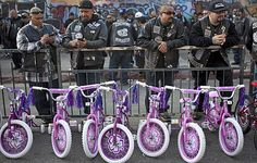Harley riders donate bikes to Skid Row mission