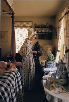 Rosewalk Cottage: Tea With Tasha Tudor-- from Victoria Magazine Die Tudors, Fee Du Logis, Vie Simple, Victoria Magazine, Country Life, French Country, Life Is Beautiful, Beautiful Scenery, Beautiful Things