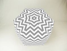 24 Inch Contemporary Modern Floor Ottoman Pouf by Zeldabelle, $125.00