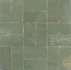 Carreau d'intérieur / mural / de sol / en ciment ZELLIGE BASIC : TR3 Ateliers Zelij