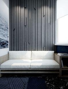 Молдинги на стенах — универсальный инструмент декора. С их помощью можно визуально увеличить и зонировать пространство, а также уберечь стены от механических повреждений и скрыть мелкие недостатки.