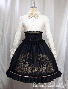 Enchantlic Enchantilly - After Tea Party Corset Ribbon Skirt