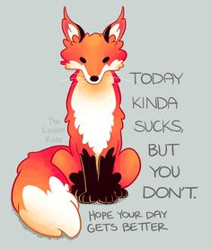 Uplifting Words Of Encouragement Through Animal Illustrations - World's largest collection of cat memes and other animals Inspirational Animal Quotes, Cute Animal Quotes, Cute Animals, Cute Animal Drawings, Cute Drawings, Horse Drawings, Fox Quotes, Funny Quotes, Hilarious Memes