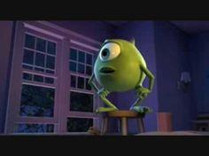 Monsters Inc. -  Mike Wazowski    character traits