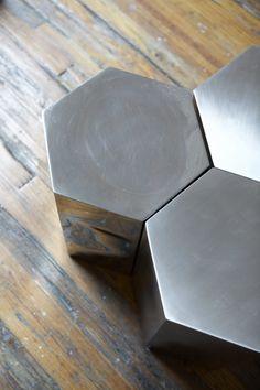 Hex Tables, Incorporated Architecture + Design #architecture #design #decor #work #newyork